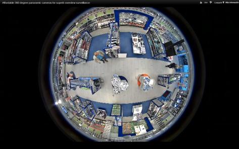 Vista 360 grados Camara Axis M-3007