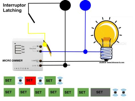 Micro módulo Insteon Dimmer