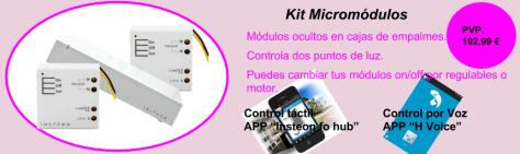 Kit micromodulos