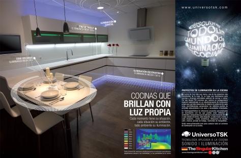 The singular kitchen alhena simply smart homes - Singular kitchen madrid ...